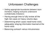 unforeseen challenges2