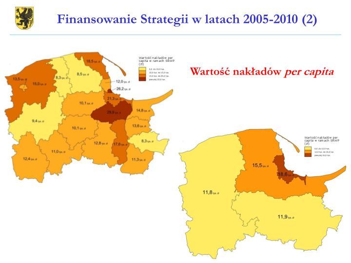 Finansowanie Strategii w latach 2005-2010 (2)