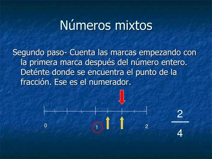 Números mixtos