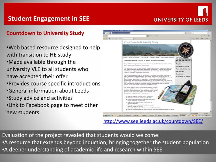 Student Engagement in SEE
