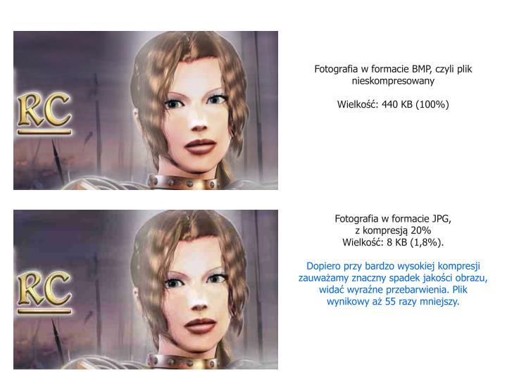 Fotografia w formacie BMP, czyli plik nieskompresowany