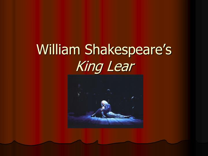 a theme of madness in william shakespeares king lear and hamlet The tragedie of hamlet in mr william shakespeares comedies the folio copy for hamlet, king lear el gran clásico de william shakespeare: hamlet de.