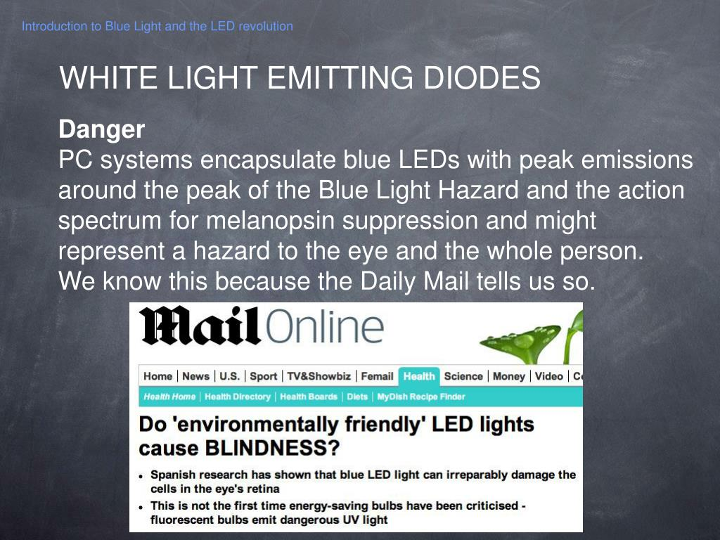 PPT - Introduction to Blue Light and the LED revolution PowerPoint