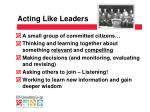 acting like leaders1