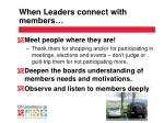 when leaders connect with members1