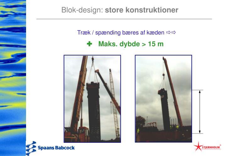 Blok-design: