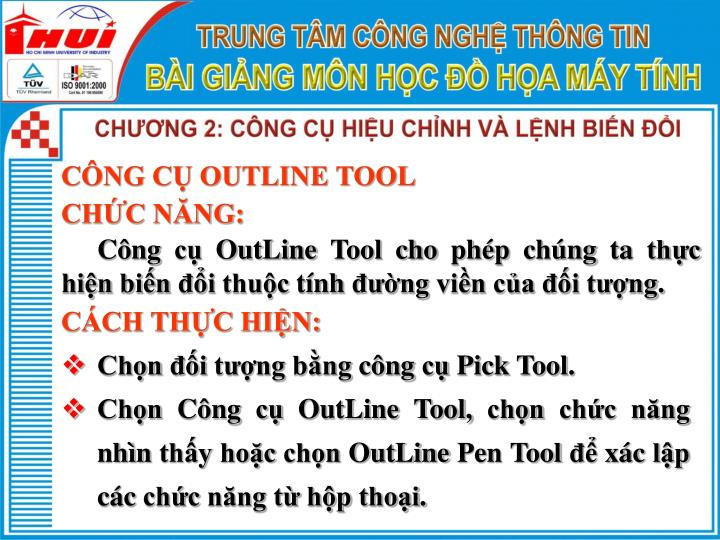 CÔNG CỤ OUTLINE TOOL