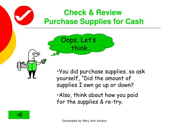 Check & Review