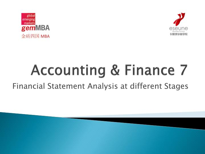 accounting finance 7 n.