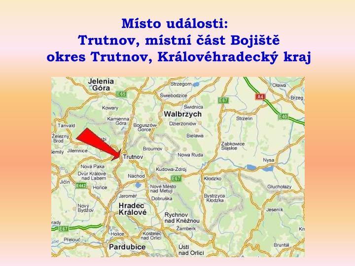 Trutnov, místní část Bojiště