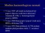 morbus haemorrhagicus neonati1