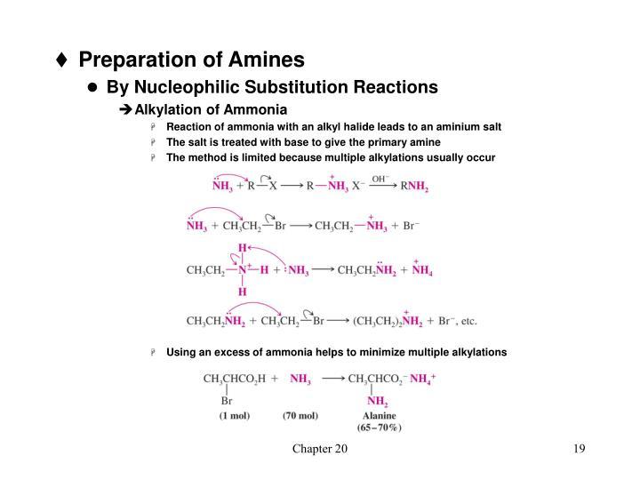 Preparation of Amines