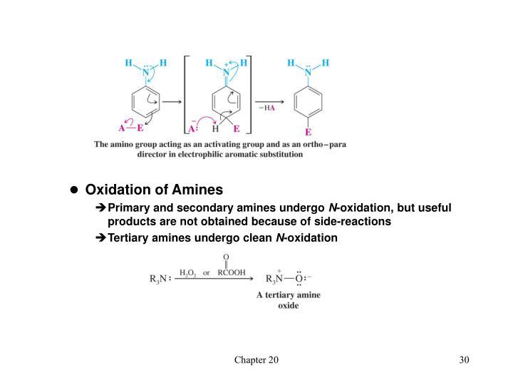 Oxidation of Amines