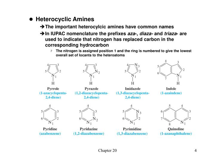 Heterocyclic Amines