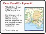 cesta krom plymouth
