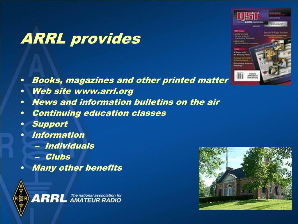 PPT - Allen Pitts, W1AGP Media & PR Manager, ARRL With help
