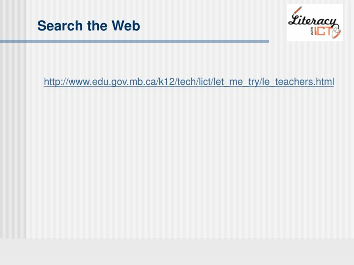 Search the Web