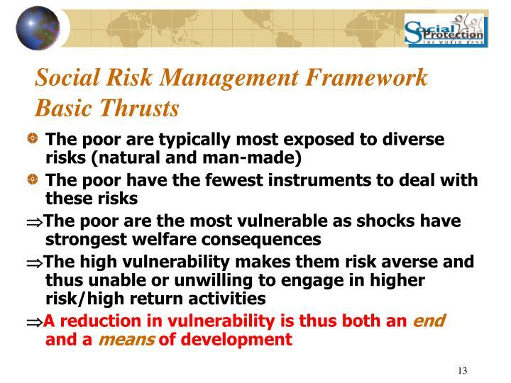 Social Risk Management Framework