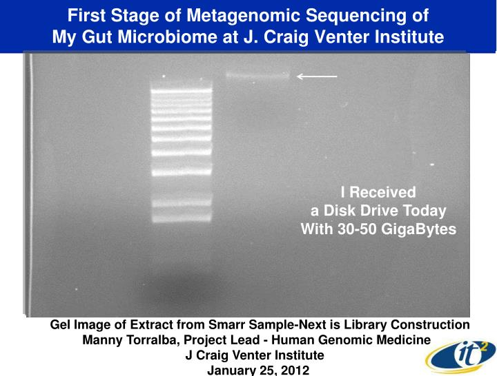 First Stage of Metagenomic Sequencing of