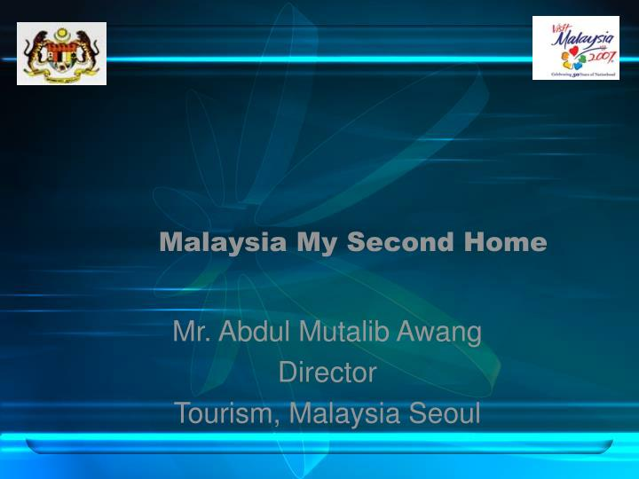 malaysia my second home n.