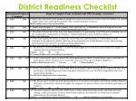district readiness checklist2