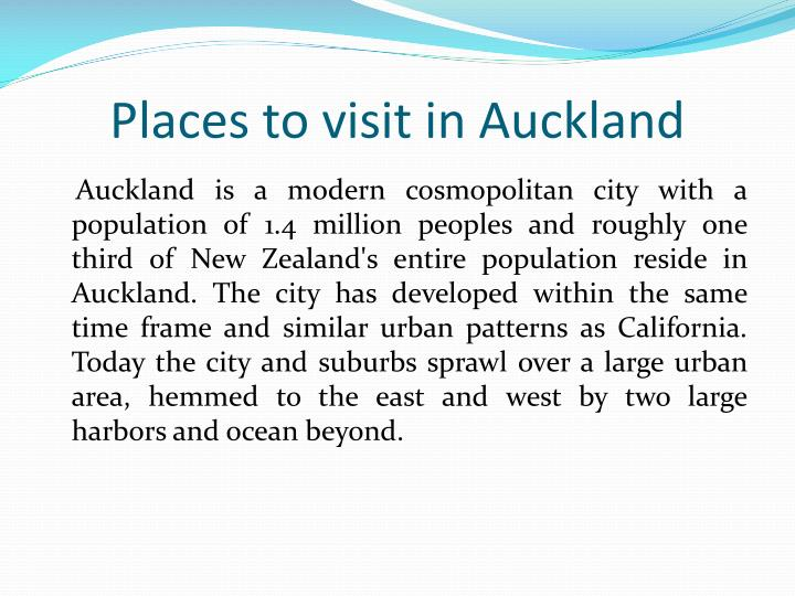 places to visit in auckland n.