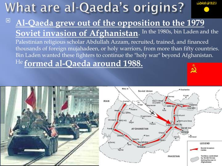 al qaeda s origins and links