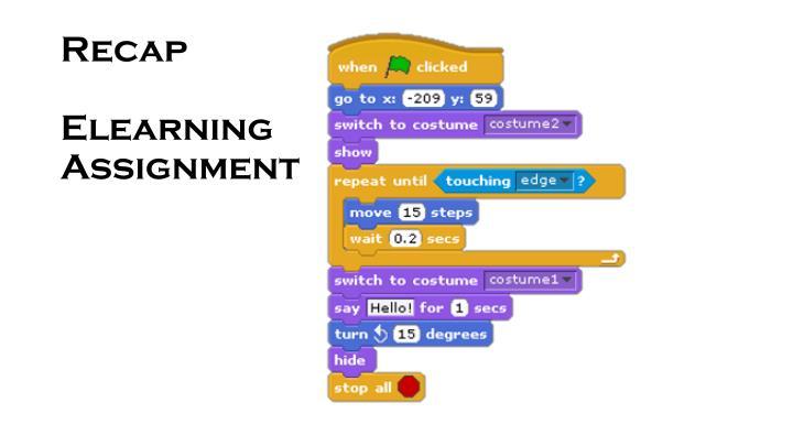 Recap elearning assignment