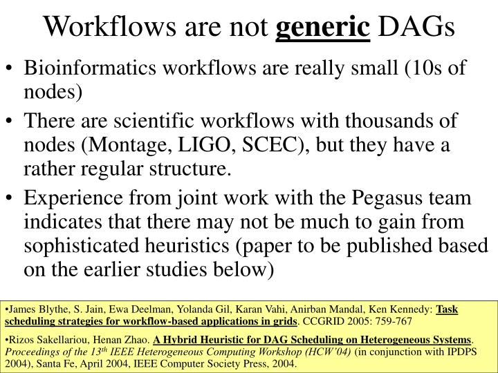 Workflows are not