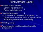 fund advice global
