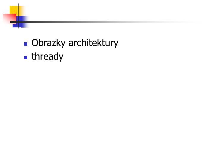 Obrazky architektury