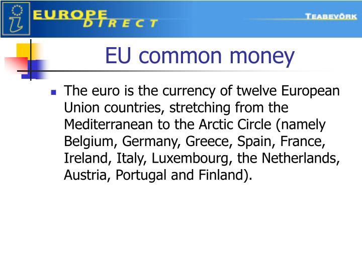 EU common money