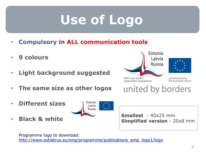 Use of Logo