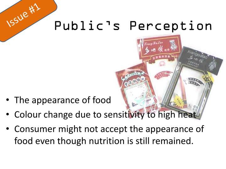 Public s perception