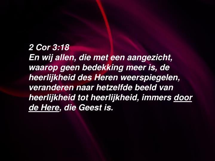 2 Cor 3:18
