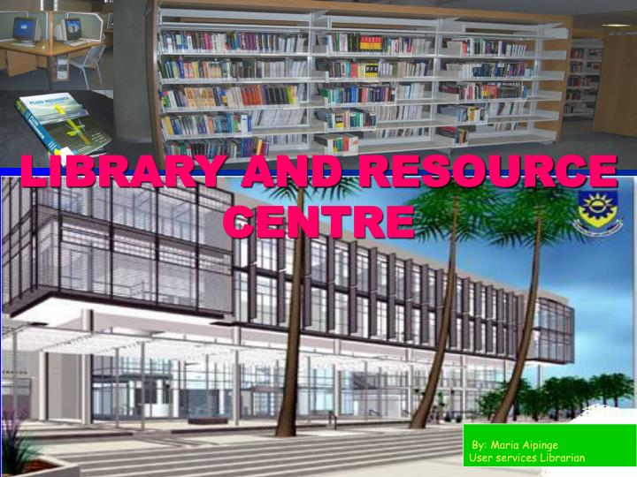 library and resource centre n.