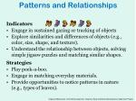 patterns and relationships1