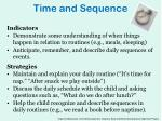 time and sequence1