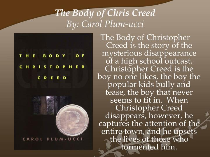 The Body of Chris Creed