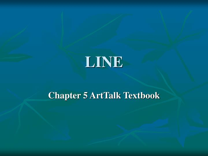 chapter 5 textbook powerpoint