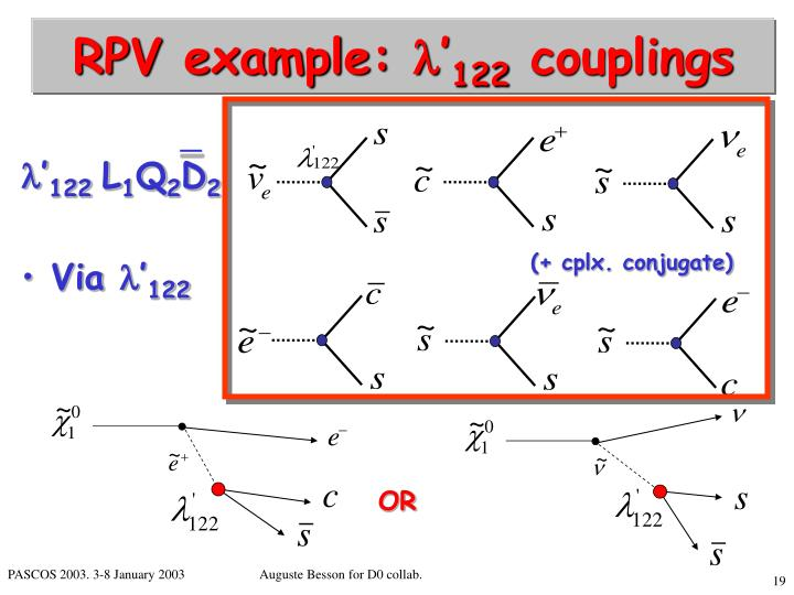 RPV example: