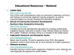 educational resources national