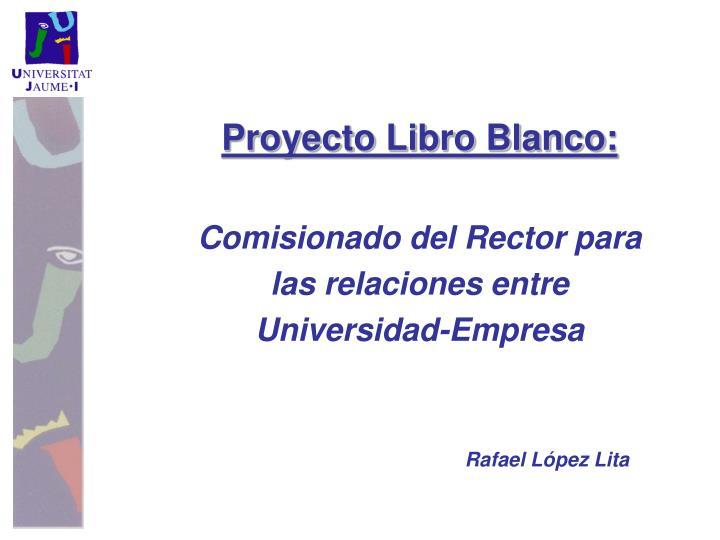 Proyecto Libro Blanco: