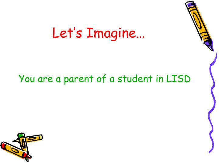 Let s imagine