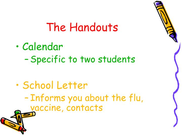 The Handouts