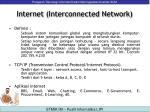 internet interconnected network