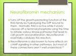 neurofibromin mechanism