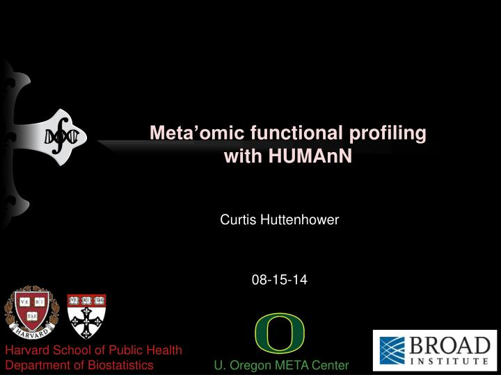 Meta omic functional profiling with humann