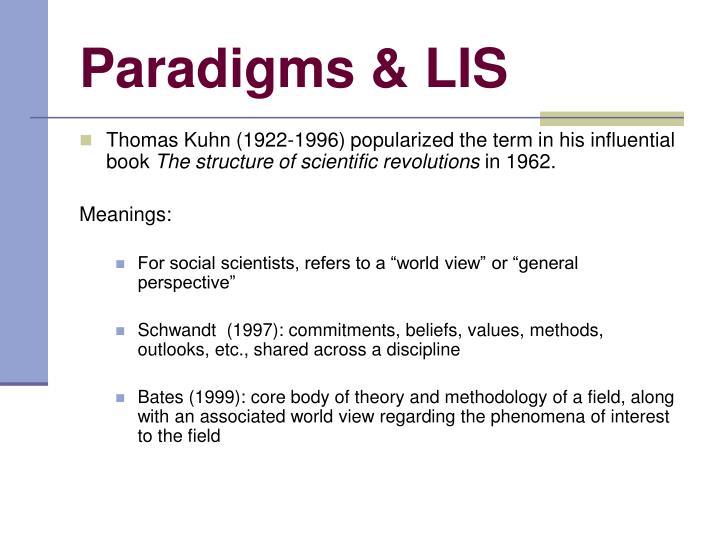 Paradigms lis