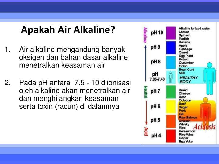 Apakah Air Alkaline?
